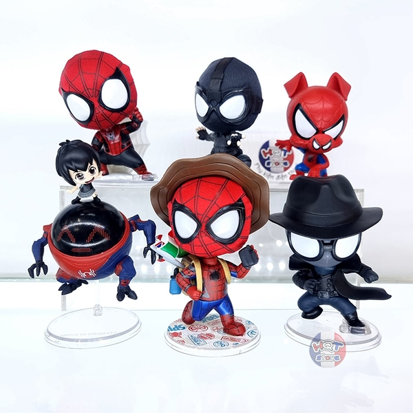 Mô hình Spider Man Into The Spider Verse Far From Home Cosbaby Chibi