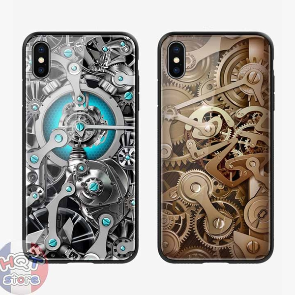 Ốp lưng kính 9H Nillkin Spacetime Gear Case cho IPhone XS Max / XR