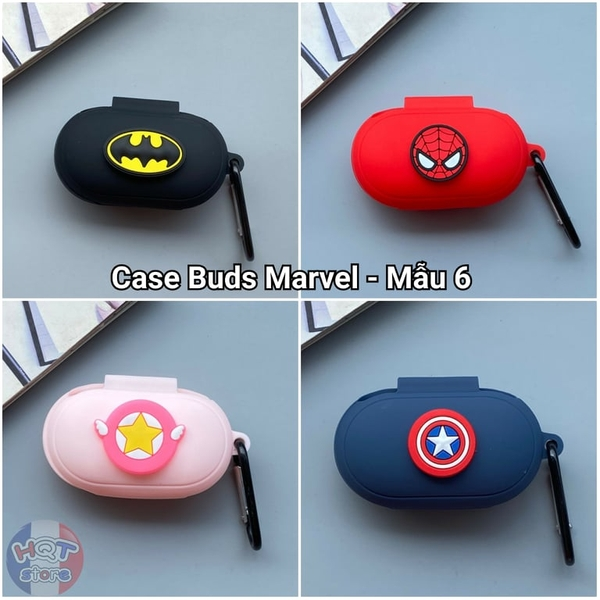 Ốp silicon case Marvel cho tai nghe Galaxy Buds / Buds Plus (Mẫu 6)