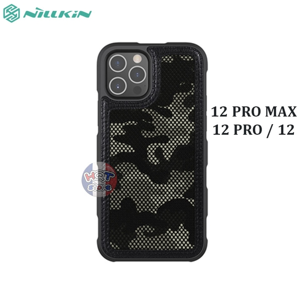 Ốp chống sốc Nillkin Camo Case cho IPhone 12 Pro Max / 12 Pro / 12