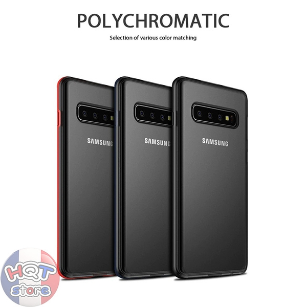 Ốp lưng chống shock Ipaky PolyChromatic Matte Samsung S10 Plus / S10
