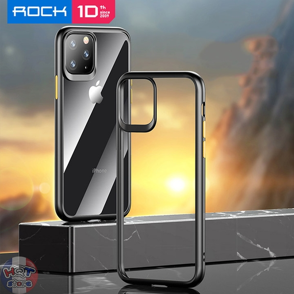Ốp lưng chống sốc Rock Guard Pro Clear cho IPhone 11 Pro Max / 11 Pro