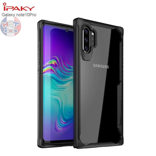 Ốp lưng chống sốc Galaxy Super Series Ipaky cho Note 10 Plus / Note 10