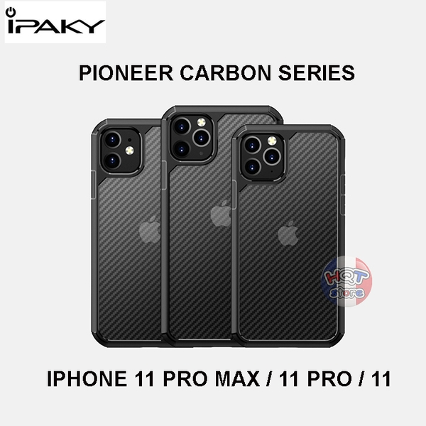 Ốp lưng chống sốc IPaky Pioneer Carbon IPhone 11 Pro Max / 11 Pro / 11