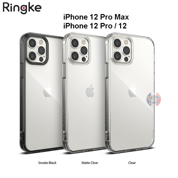 Ốp lưng chống sốc Ringke Fusion cho IPhone 12 Pro Max / 12 Pro
