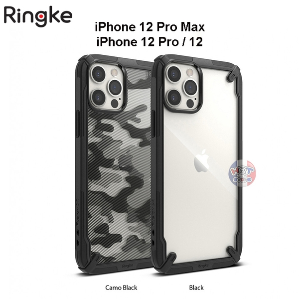 Ốp lưng chống sốc Ringke Fusion X cho IPhone 12 Pro Max / 12 Pro
