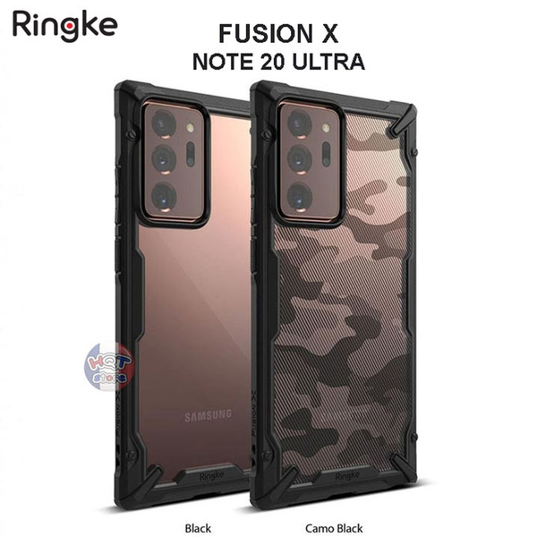 Ốp lưng chống sốc Ringke Fusion X Samsung Note 20 Ultra (5G)