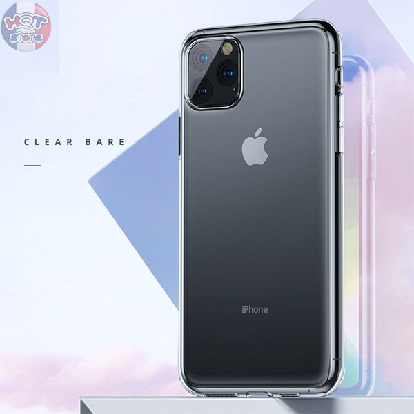 Ốp lưng dẻo trong suốt Benks Crystal 2.0mm Iphone 11 Pro Max / 11 Pro