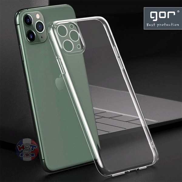 Ốp lưng dẻo trong suốt Gor Nature cho Iphone 11 Pro Max / 11 Pro / 11