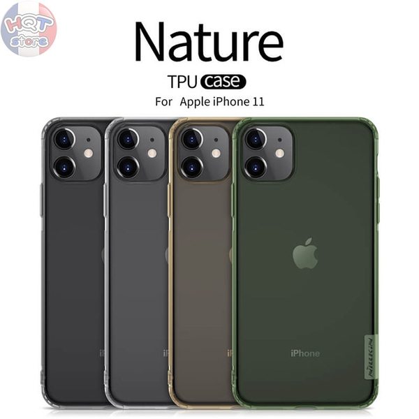 Ốp lưng dẻo trong suốt Nillkin Nature cho Iphone 11 6.1inch