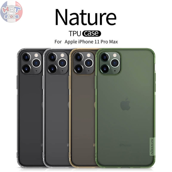 Ốp lưng dẻo trong suốt Nillkin Nature cho Iphone 11 Pro Max / 11 Pro