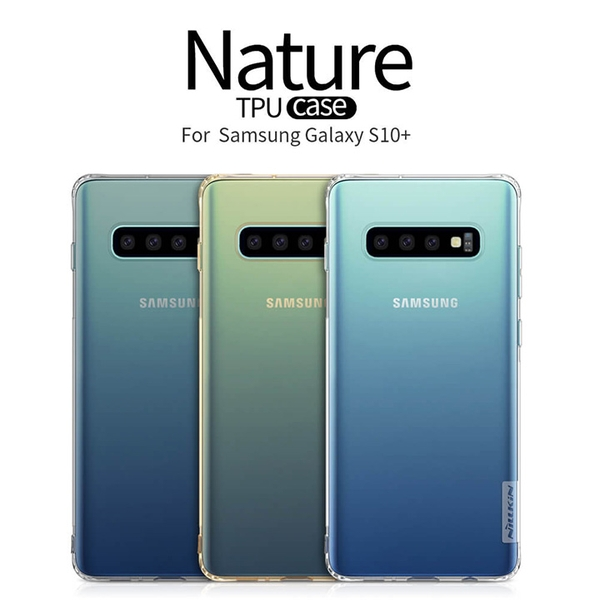 Ốp lưng dẻo trong suốt Nillkin Nature Series cho Samsung S10 Plus / S10
