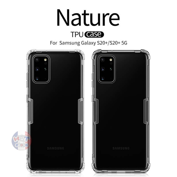 Ốp lưng dẻo trong suốt Nillkin Nature Series Samsung S20 Plus / S20