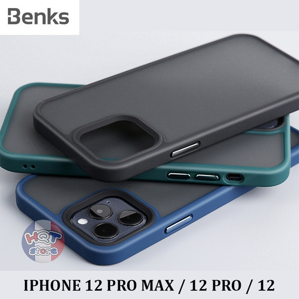 Ốp lưng nhám mờ Benks Magic Smooth IPhone 12 Pro Max / 12 Pro / 12