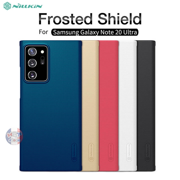 Ốp lưng Nillkin Frosted Shield cho Note 20 Ultra (5G) / Note 20
