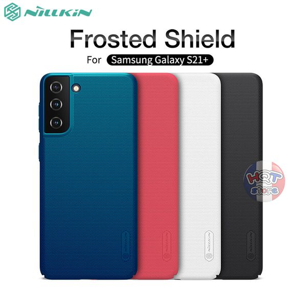 Ốp lưng Nillkin Frosted Shield cho Samsung Galaxy  S21 Plus / S21
