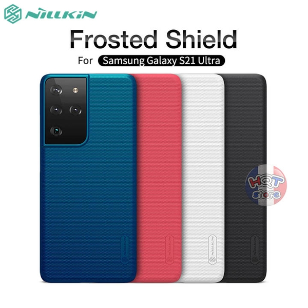 Ốp lưng Nillkin Frosted Shield cho Samsung Galaxy S21 Ultra