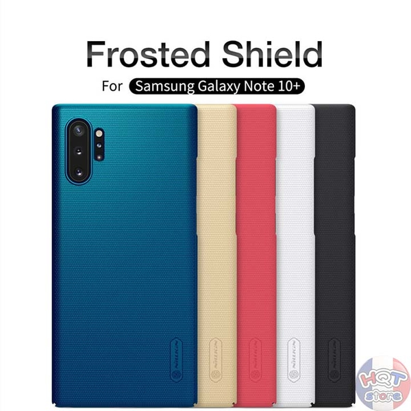 Ốp lưng Nillkin Frosted Shield cho Samsung Note 10 Plus / Note 10
