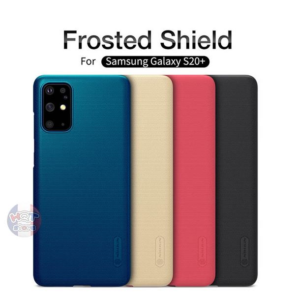Ốp lưng Nillkin Frosted Shield cho Samsung S20 Plus / S20