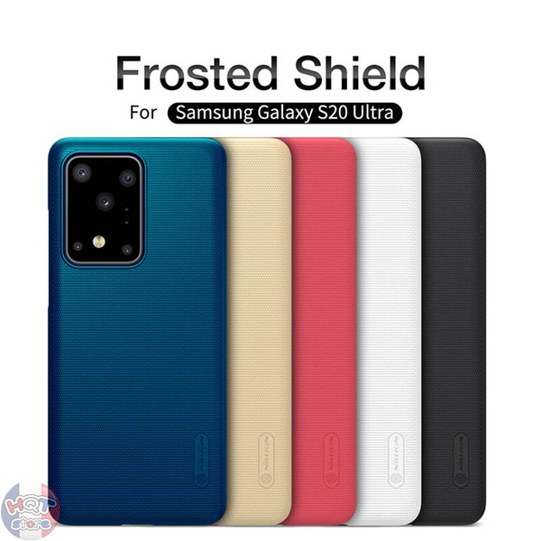 Ốp lưng Nillkin Frosted Shield cho Samsung S20 Ultra