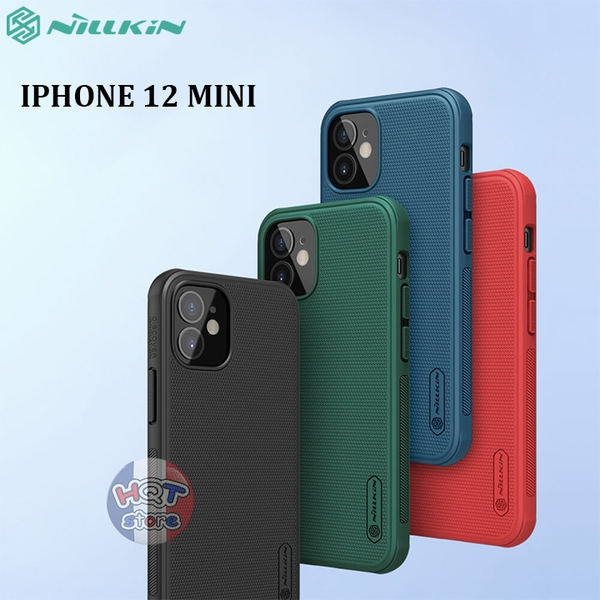 Ốp lưng Nillkin Frosted Shield Pro cho IPhone 12 Mini