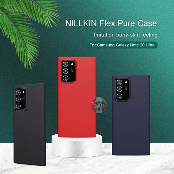 Ốp lưng Silicon Liquid Nillkin Flex Pure Note 20 Ultra (5G) / Note 20