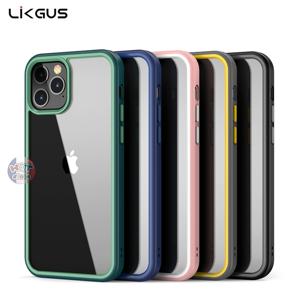Ốp lưng trong suốt Likgus Sexy Series IPhone 12 Pro Max / 12 Pro / 12