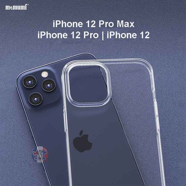 Ốp lưng trong suốt Memumi Clear cho IPhone 12 Pro Max / 12 Pro / 12