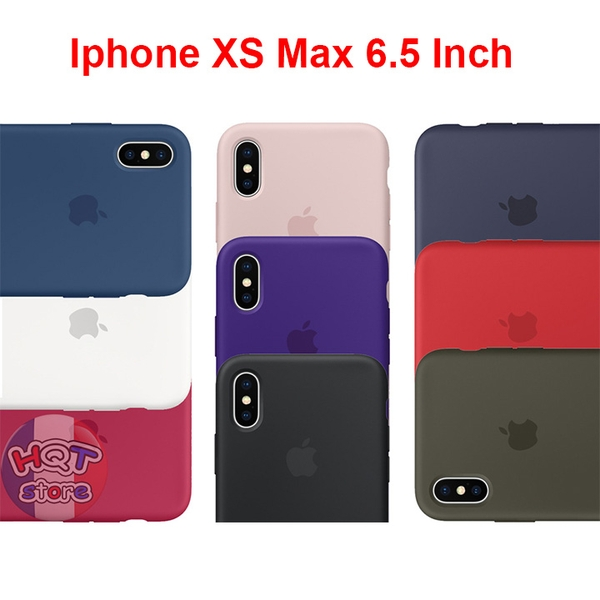 Ốp Silicon Case Apple cho Iphone XS Max 6.5 inch Chống Bám Bẩn