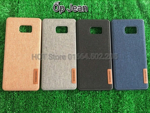 Ốp Jeans dẻo full máy cho Note5/Note7