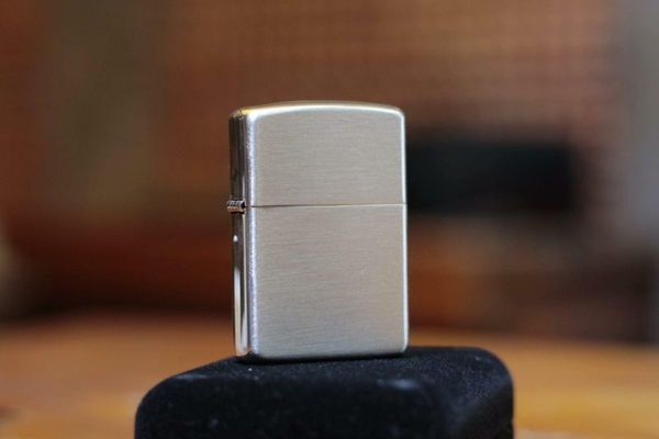 Zippo Armor Brushed Sterling Silver