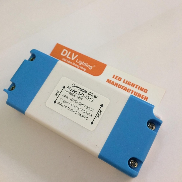 DIMMABLE DRIVER 18W