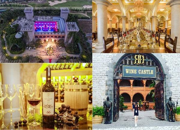 Giá vé tham quan lâu đài rượu vang Bình Thuận - Tour Pro