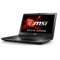 Laptop  MSI GL62 6QE (Mainstream) 1223XVN (Black)