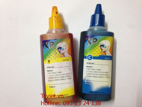 MỰC IN EPSON XP PRO DYE UV (100ML) - tcviet.vn