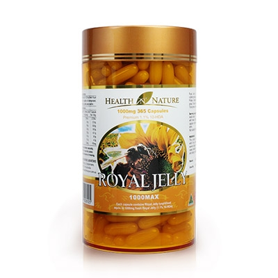 Health N Nature Royal Jelly 1000mg - Viên Sữa ong chúa