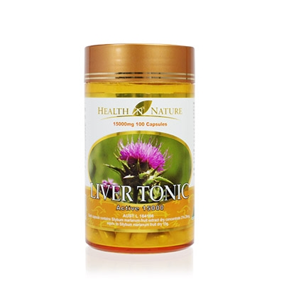 Health N Nature Liver Tonic 15000mg - Viên bổ gan