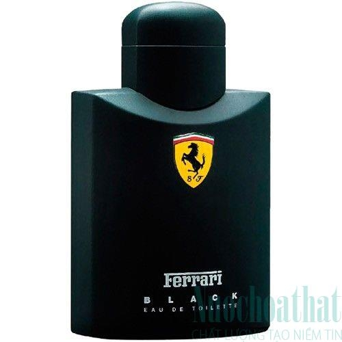 Ferrari Black Eau de Toillete 75ml