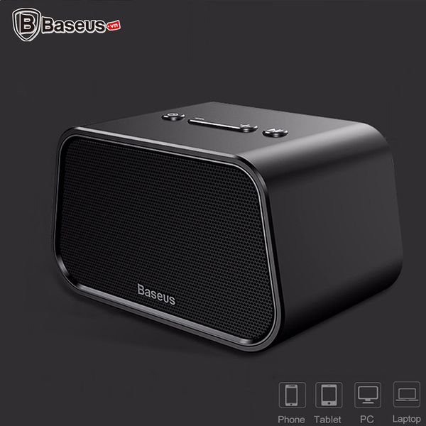 Loa Bluetooth Mini đa năng Baseus Encok E02 (TF Card, USB, AUX, Wireless Speaker)