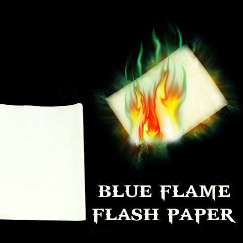 Blue Flame Paper
