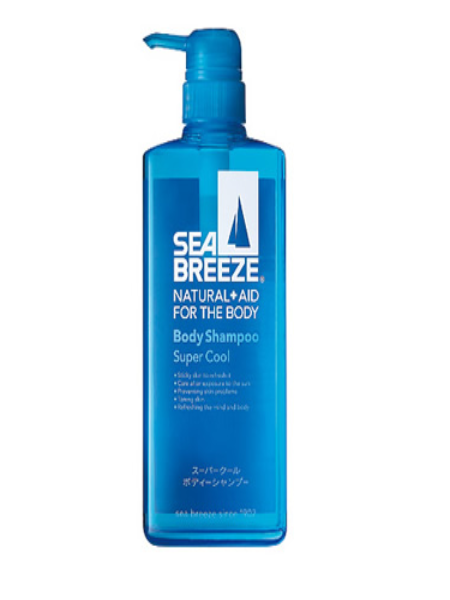 SỮA TẮM SHISEIDO SEABREEZE BODY SHAMPOO SUPER COOL