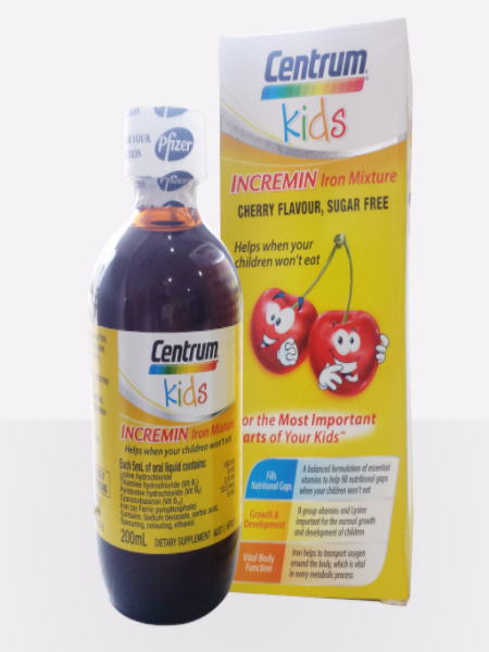 VITAMIN CENTRUM KIDS INCREMIN