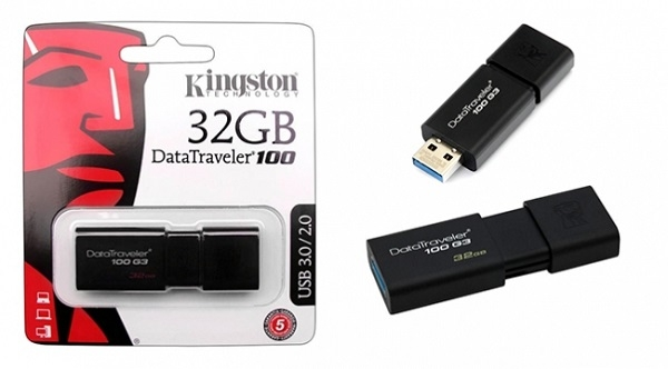 USB kingston 32G 3.0 DT100G3