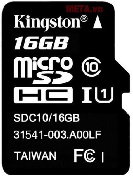 Thẻ nhớ  Kingston 16GB SDHC C10