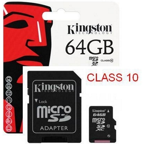 Thẻ nhớ Kingston 64GB C10