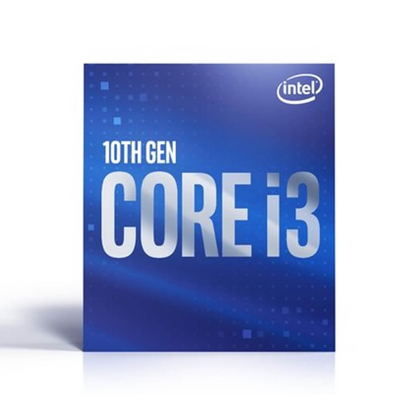 CPU Intel Core i3-10100 (3.6Ghz up to 4.3Ghz, 6MB cache, 65W) - Socket Intel LGA 1200