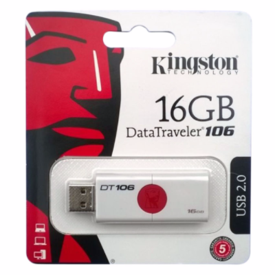 USB Kingston 16gb Datatraveler 106