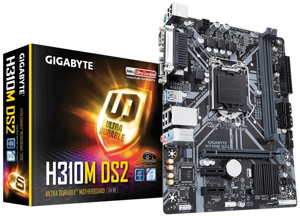 Main Gigabyte H310M-DS2 (Chipset Intel H310/ Socket LGA1151/ VGA onboard)