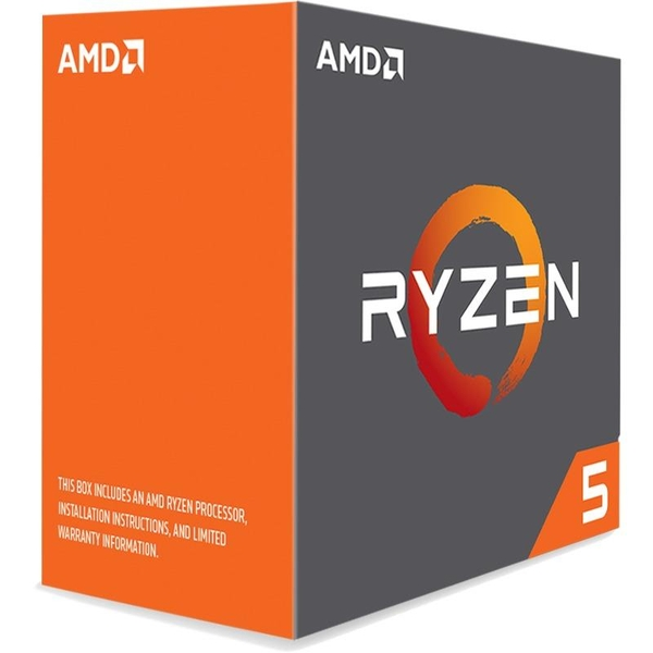CPU AMD Ryzen 5 1600x 3.5 GHz (Up to 3.7GHz) / 6 cores 12 threads / socket AM4