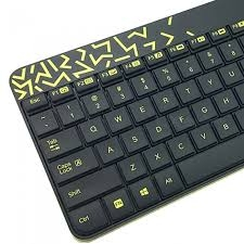Bộ Keyboard + Mouse Logitech MK240 NANO Wireless